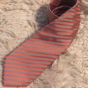 🔥CLEARANCE🔥Handmade Citrus+Metal Striped Tie